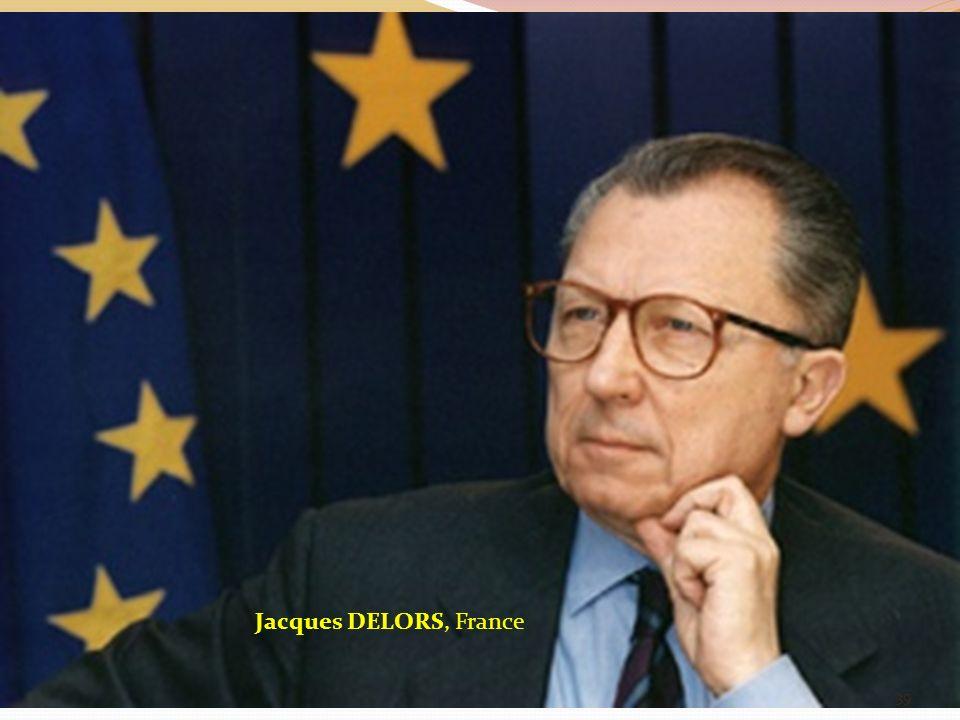 Jacques DELORS, France 39