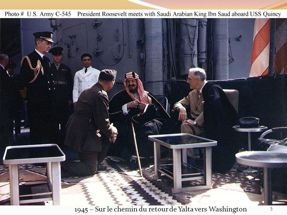 1945 – Sur le chemin du retour de Yalta vers Washington 5