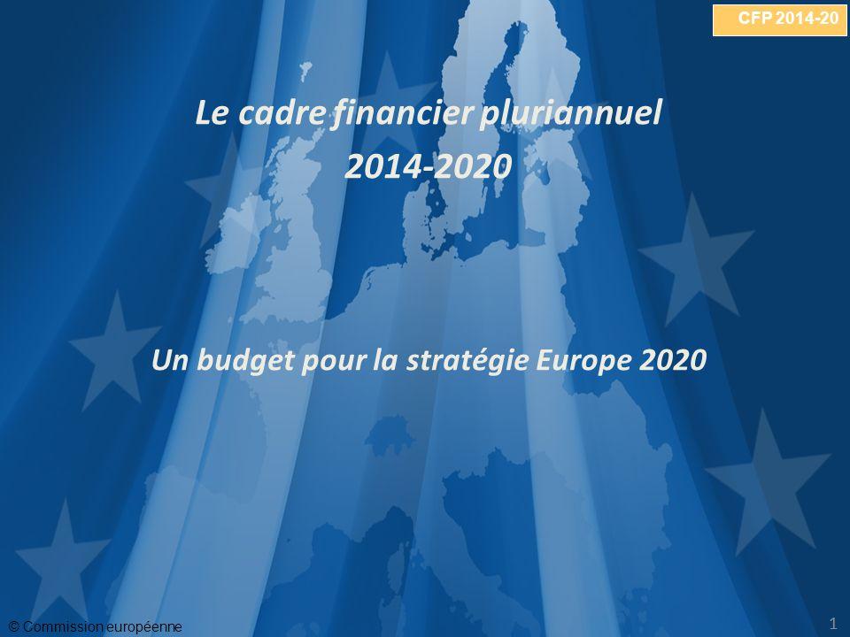 CFP 2014-20 © Commission européenne 11 Le cadre financier pluriannuel 2014-2020 Un budget pour la stratégie Europe 2020