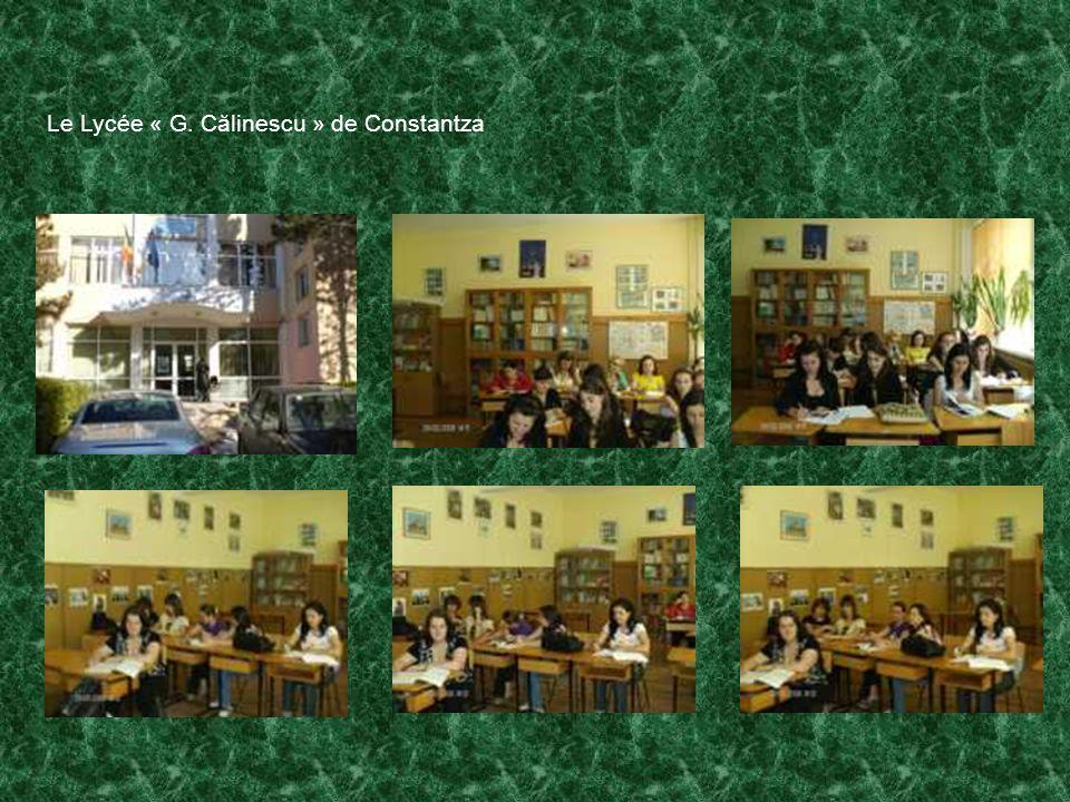 Le Lycée « G. Călinescu » de Constantza