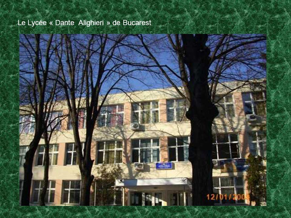Le Lycée « Dante Alighieri » de Bucarest