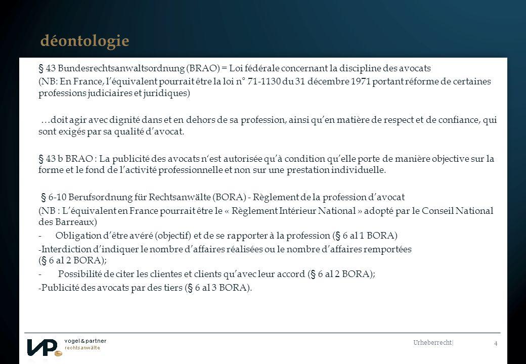 Titelmasterformat durch Klicken bearbeiten Urheberrecht  5 Merci pour votre attention Prof.