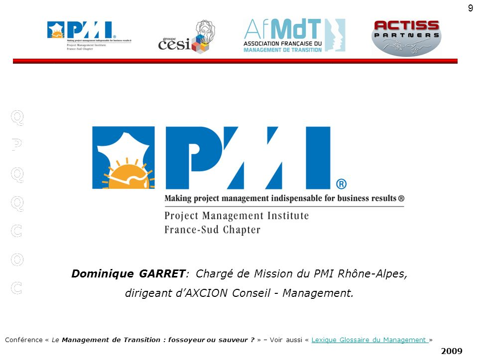Conférence « Le Management de Transition : fossoyeur ou sauveur .