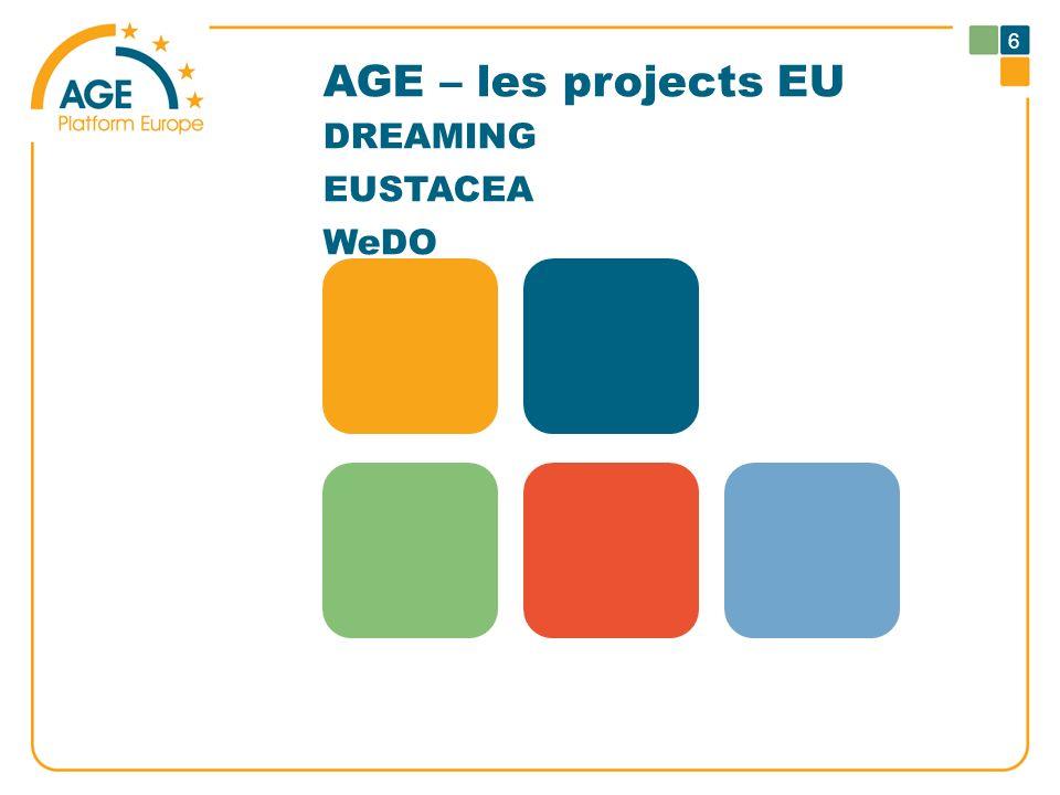 AGE – les projects EU DREAMING EUSTACEA WeDO 6
