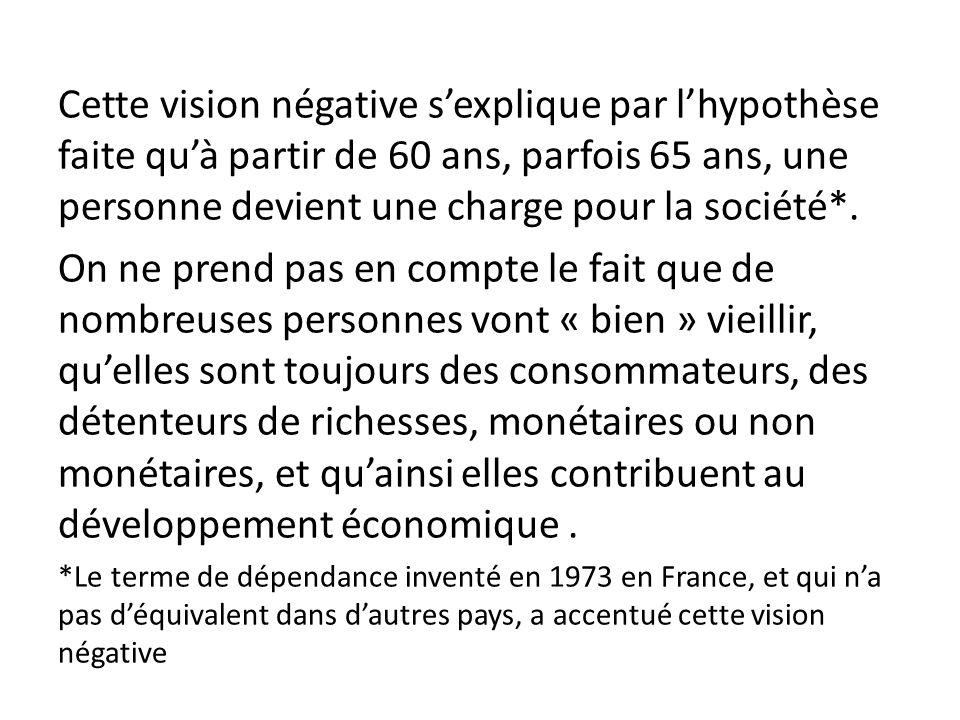 Simone de Beauvoir écrit dans « La vieillesse » (Gallimard-1970) que « Le prestige de la vieillesse a beaucoup diminué du fait que la notion dexpérience est discréditée.