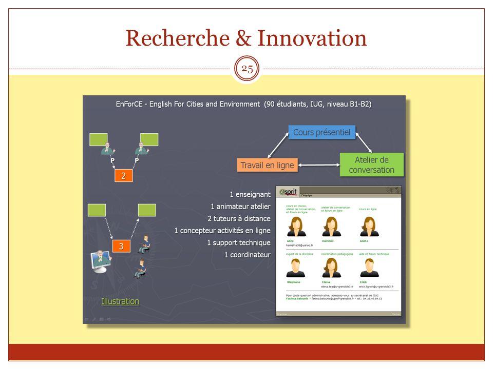 Recherche & Innovation 25