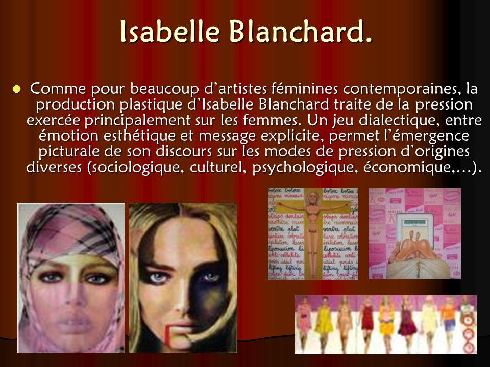 Isabelle Blanchard.