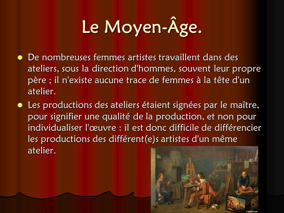 Le Moyen-Âge.