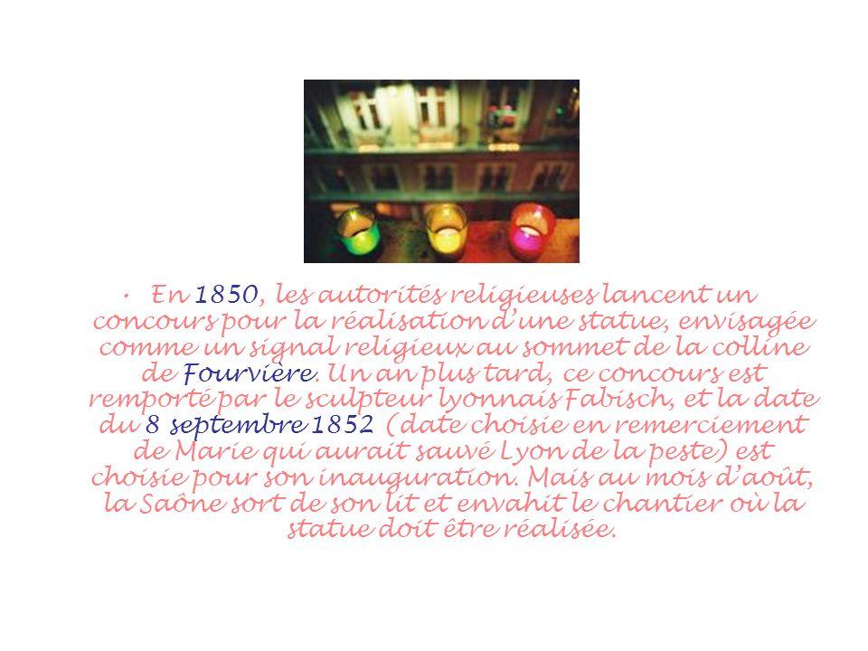 Linauguration est donc reportée au 8 décembre, fête de limmaculée conception.