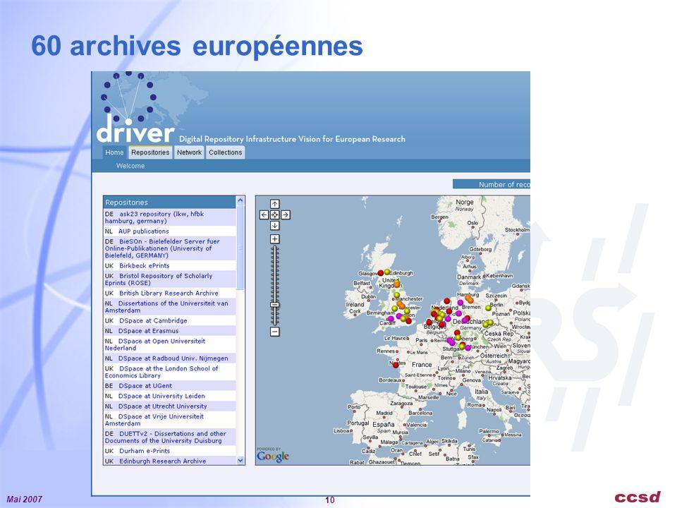 Mai 2007 10 60 archives européennes
