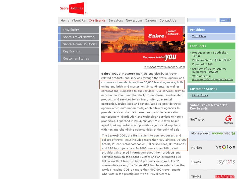 Un GDS c est : Aérien: Accès aux horaires et tarifs de plusieurs centaines de compagnies.