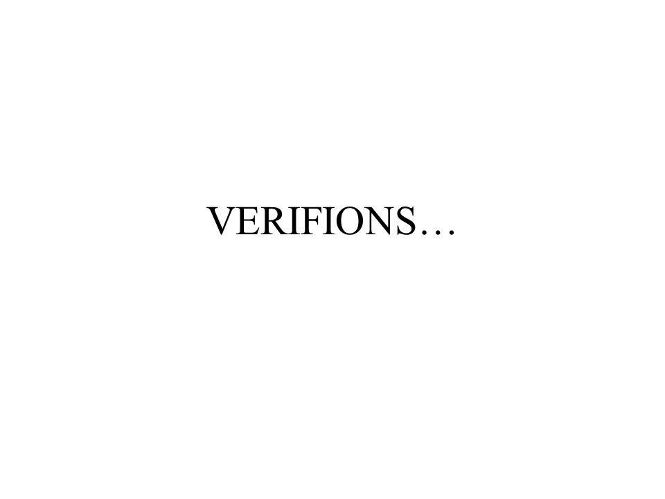VERIFIONS…