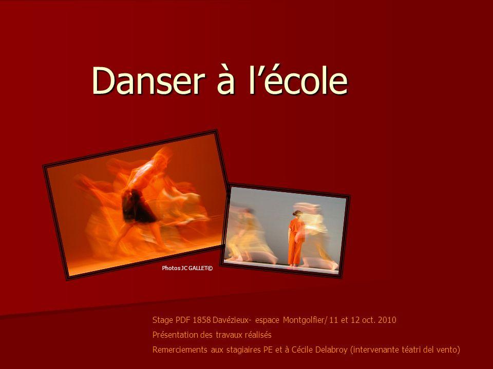 Danser à lécole Stage PDF 1858 Davézieux- espace Montgolfier/ 11 et 12 oct.