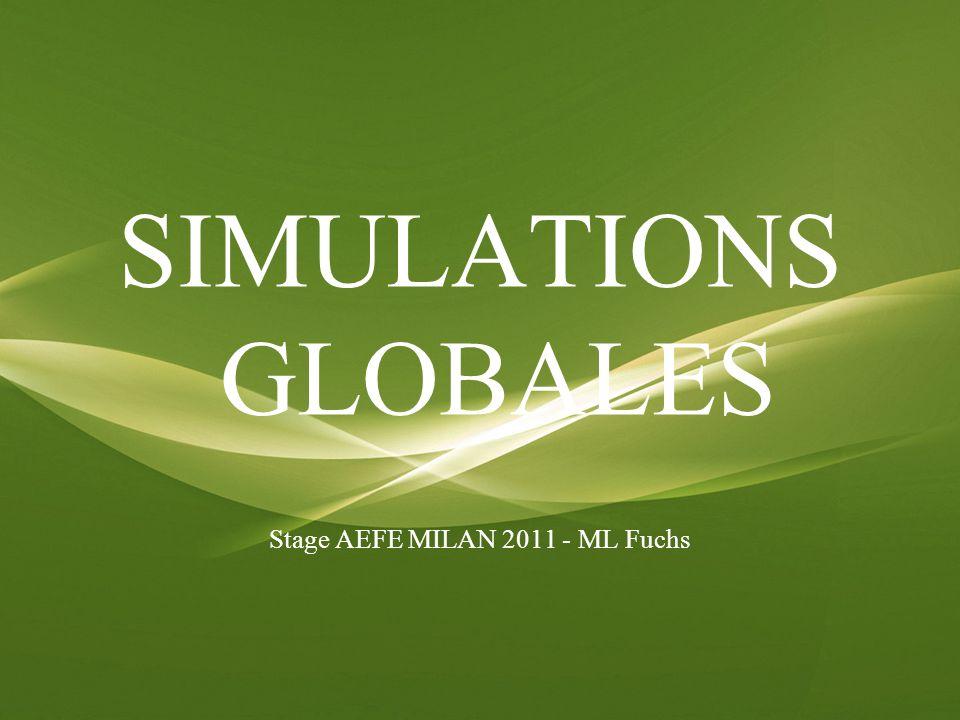 « Décrire le monde, raconter la vie et vivre la comédie des relations humaines, tel est le pari pédagogique des simulations.
