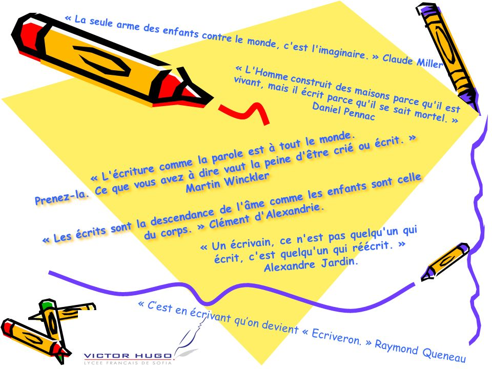 Sources « Lire et écrire avec la littérature de jeunesse » Jean-Bernard SCHNEIDER