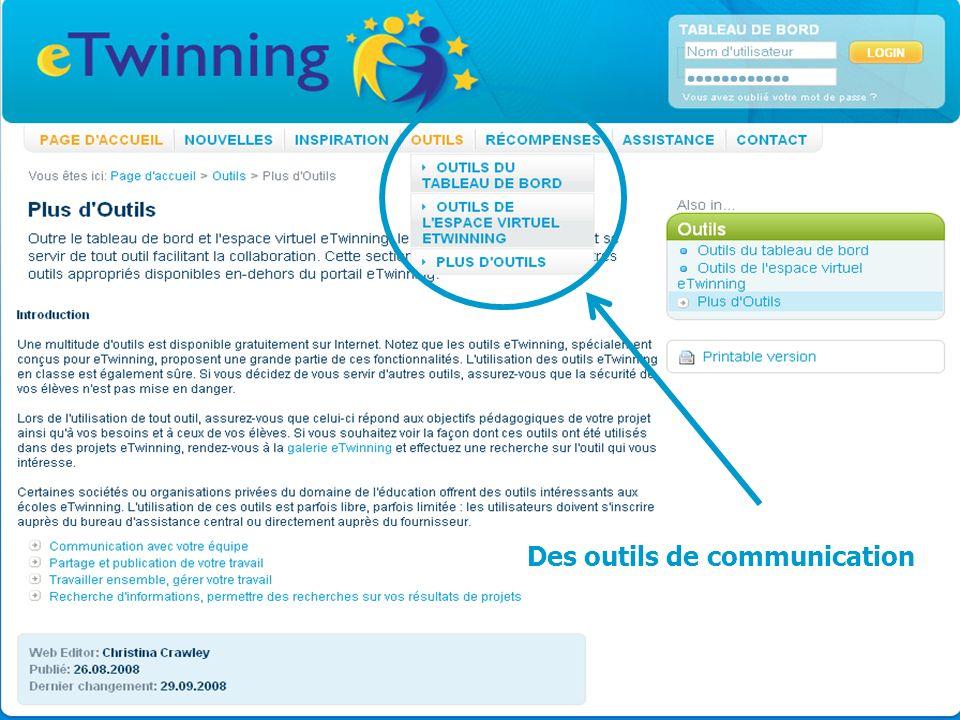 MLF- Florence vendredi 19 février 2010 Des outils de communication