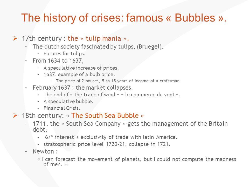 Les grandes crises : 1929, 2008.1929. The mother of all crises.