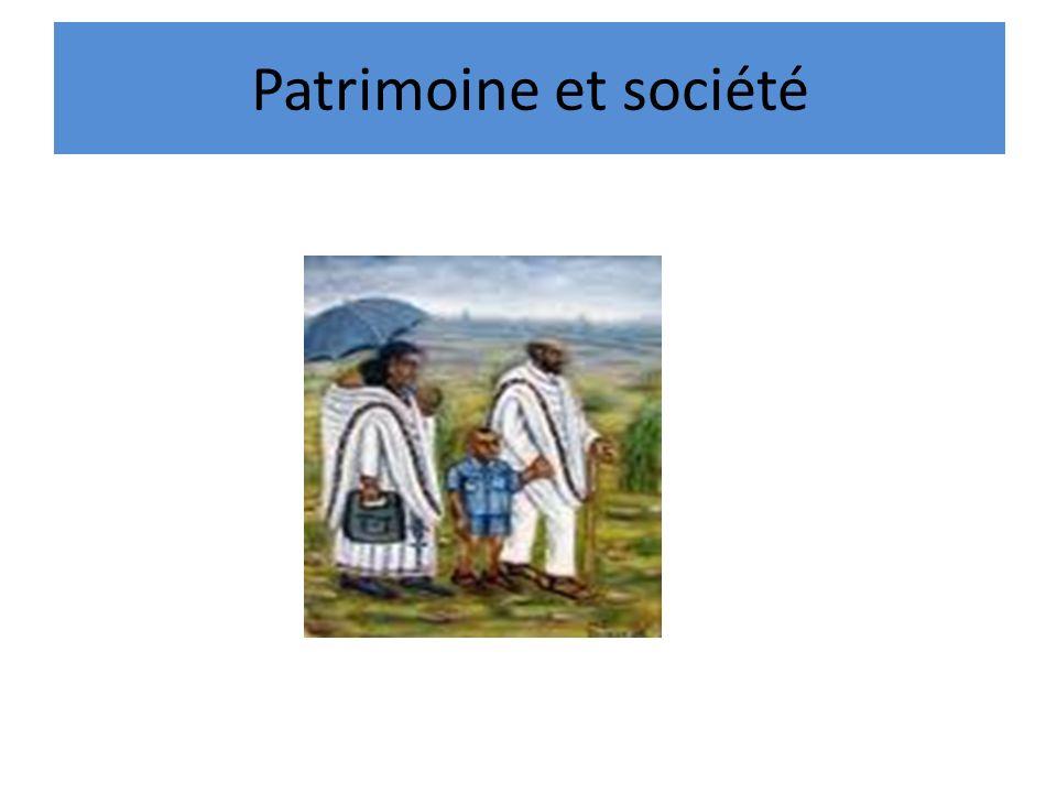 Patrimoine et société