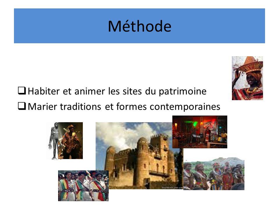 Méthode Habiter et animer les sites du patrimoine Marier traditions et formes contemporaines