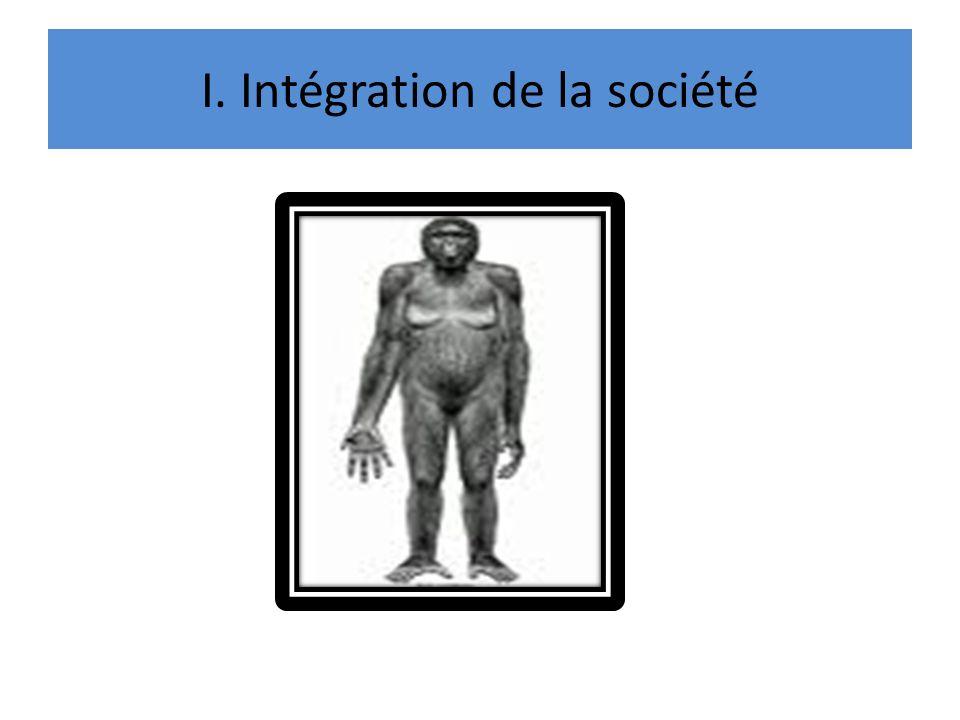 I. Intégration de la société