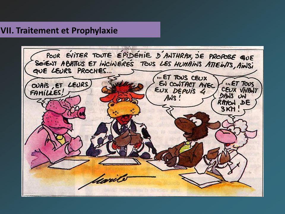 VII. Traitement et Prophylaxie