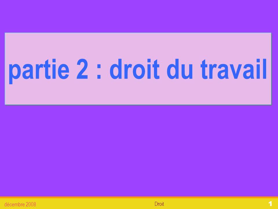 Droit décembre 2008 22 2. Lembauche 3.6. La paye (paie) 2.3. La paye (ou paie)