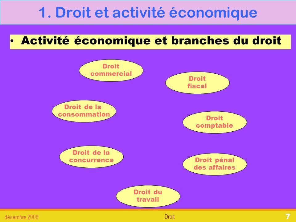 Droit décembre 2008 28 3.La défense des salariés 3.3.