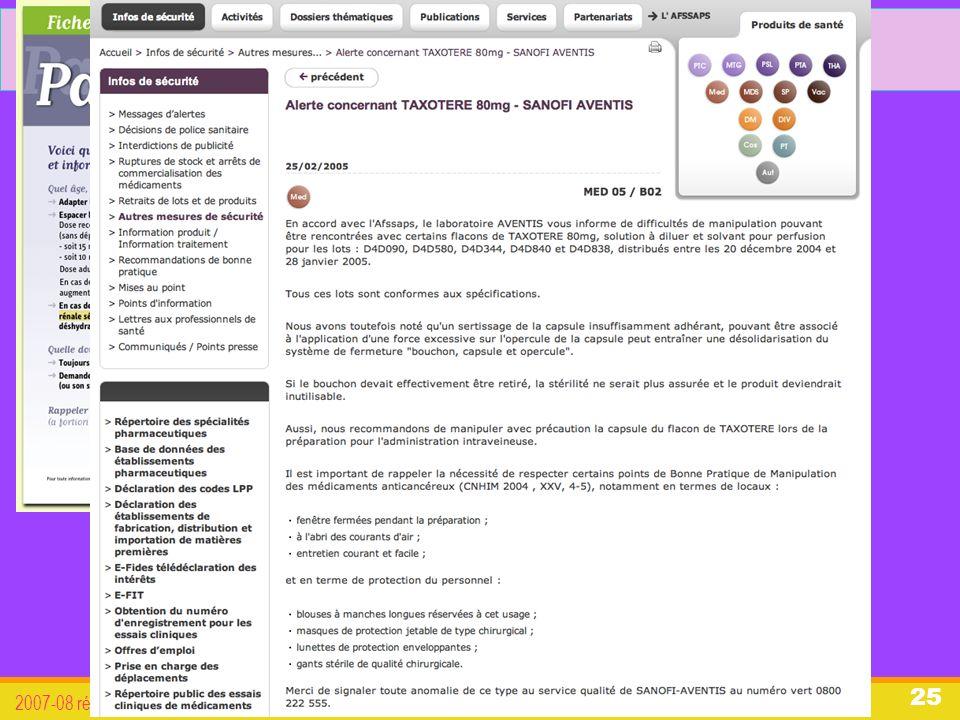 organisation du système de santé français 2007-08 révisée 2011 25