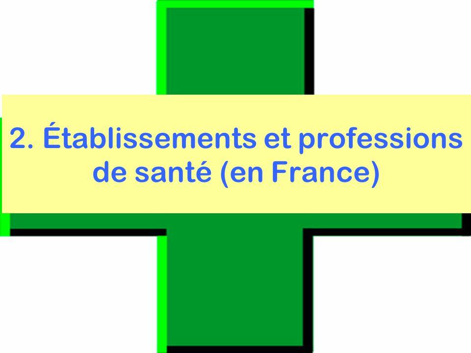 organisation du système de santé français 2007-08 révisée 2011 28 2.