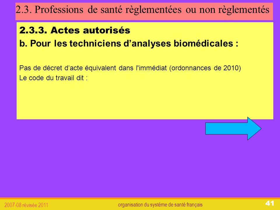 organisation du système de santé français 2007-08 révisée 2011 41 2.3.
