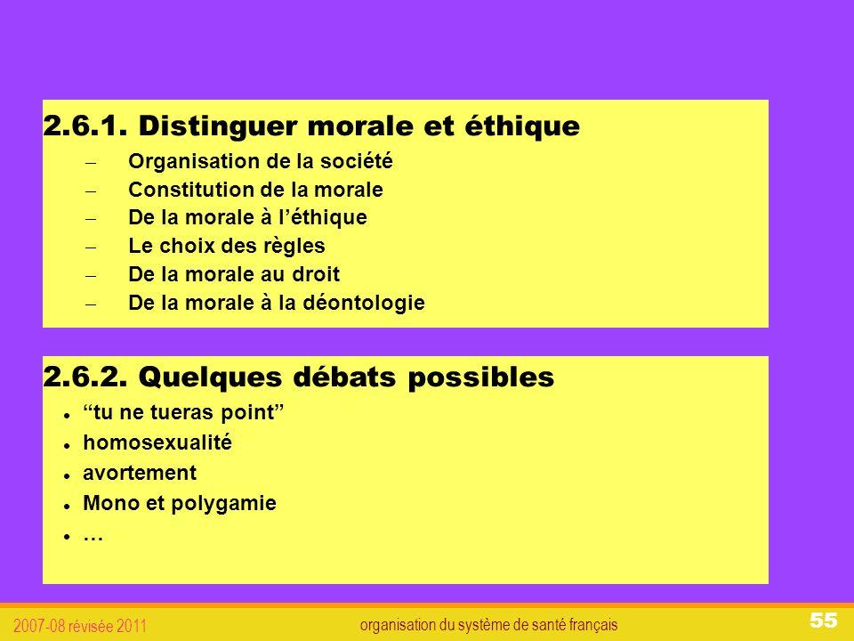 organisation du système de santé français 2007-08 révisée 2011 55 2.6.1.