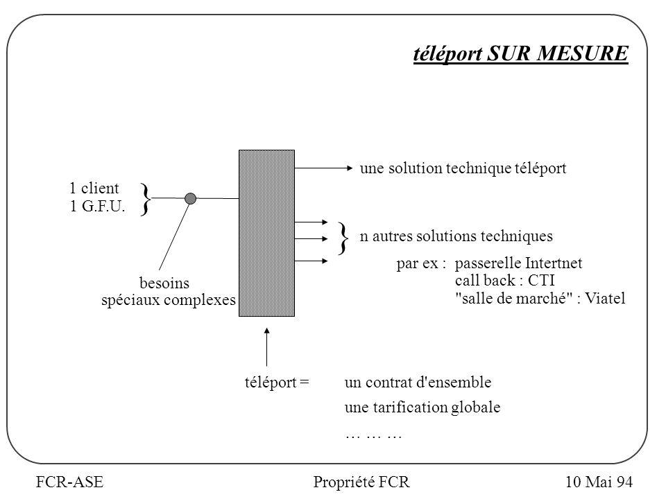 FCR-ASEPropriété FCR téléport SUR MESURE 1 client 1 G.F.U.