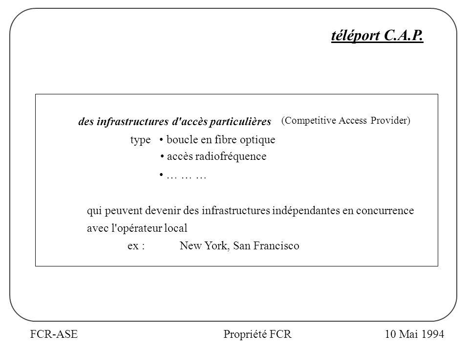 FCR-ASEPropriété FCR téléport C.A.P.
