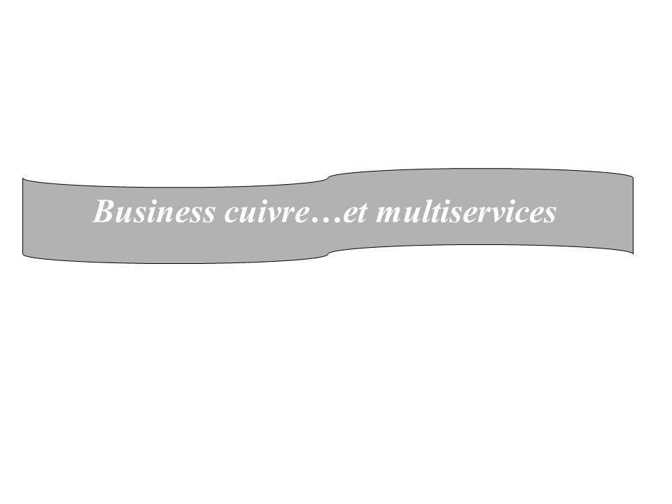Business cuivre…et multiservices