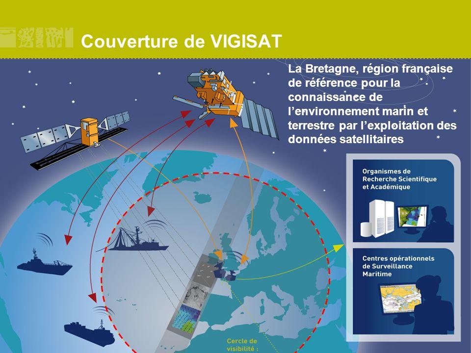 TELECOM Bretagne Couverture de VIGISAT La Bretagne, région française de référence pour la connaissance de lenvironnement marin et terrestre par lexplo