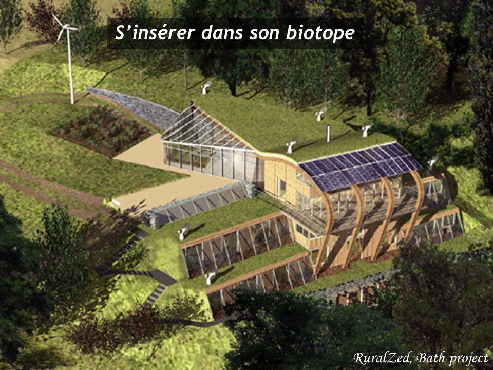 Sinsérer dans son biotope RuralZed, Bath project