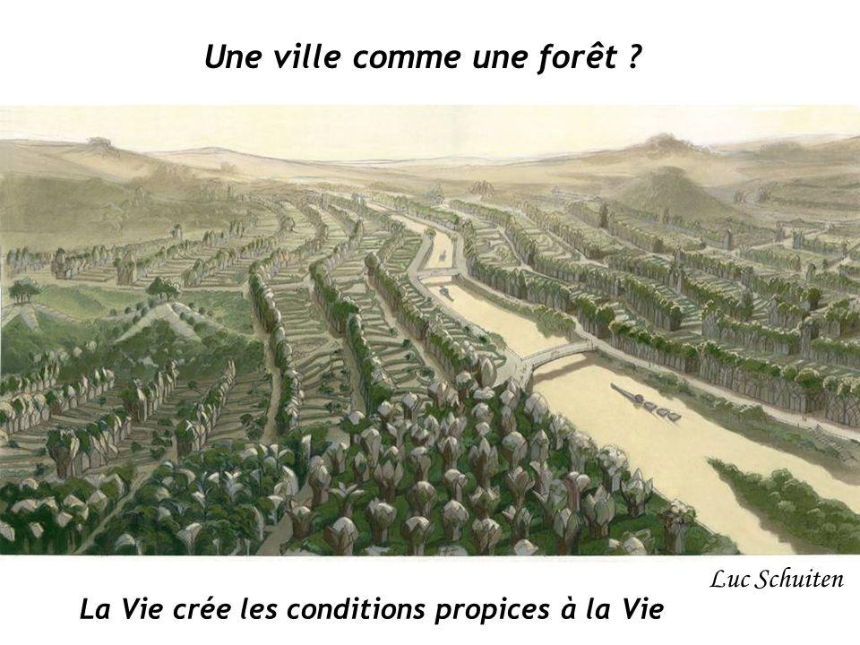 Luc Schuiten Une ville comme une forêt ? La Vie crée les conditions propices à la Vie