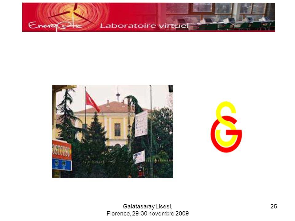 Galatasaray Lisesi, Florence, 29-30 novembre 2009 25