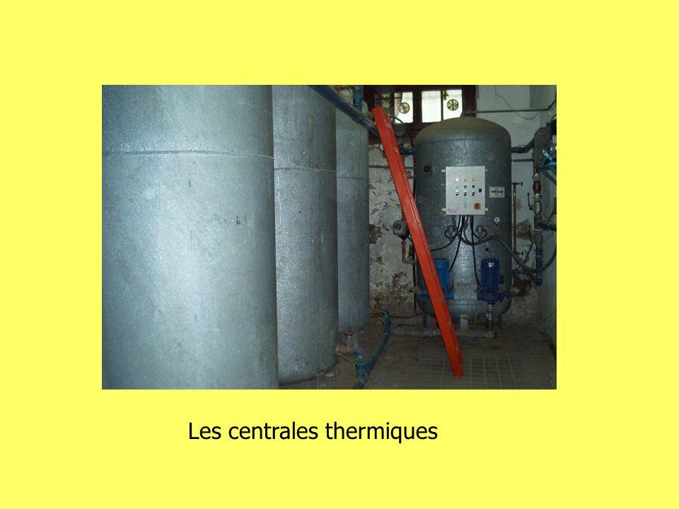 Les centrales thermiques