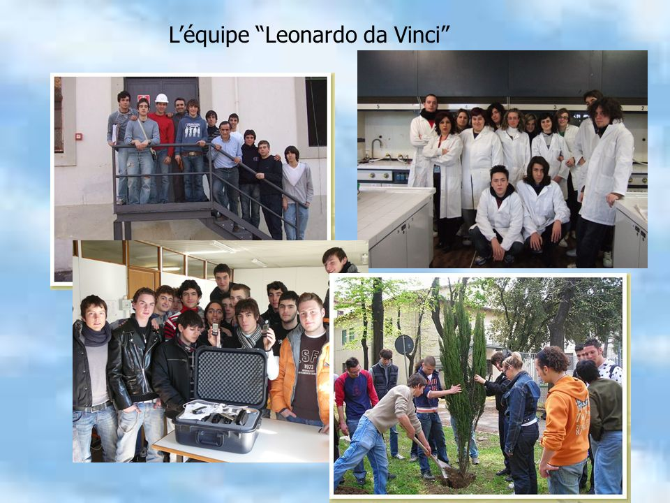 Léquipe Leonardo da Vinci