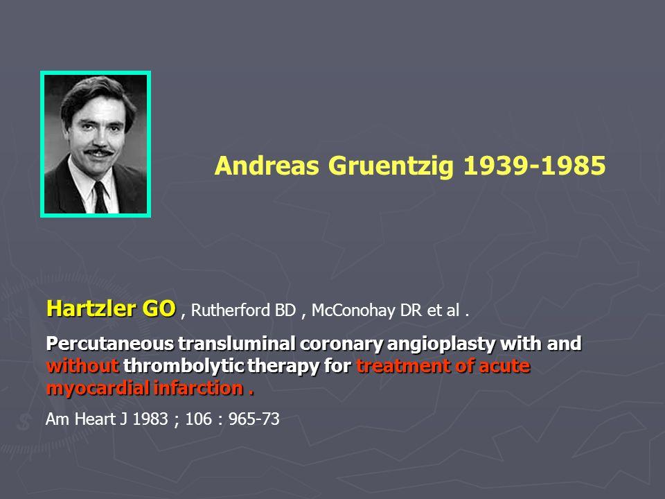 Hartzler GO Hartzler GO, Rutherford BD, McConohay DR et al.