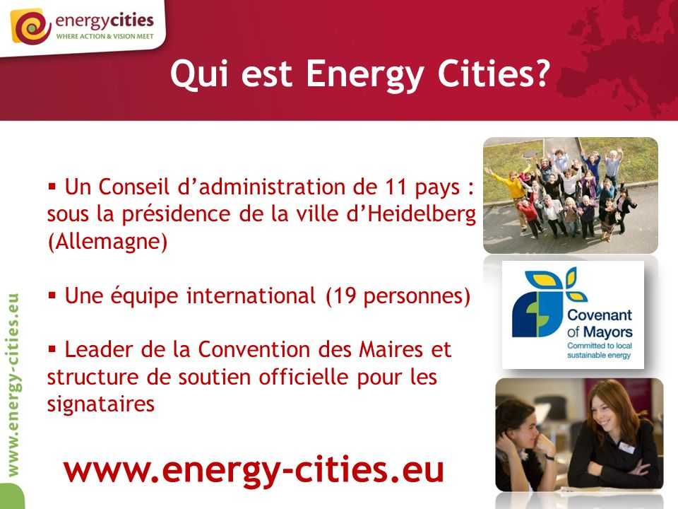Qui est Energy Cities.