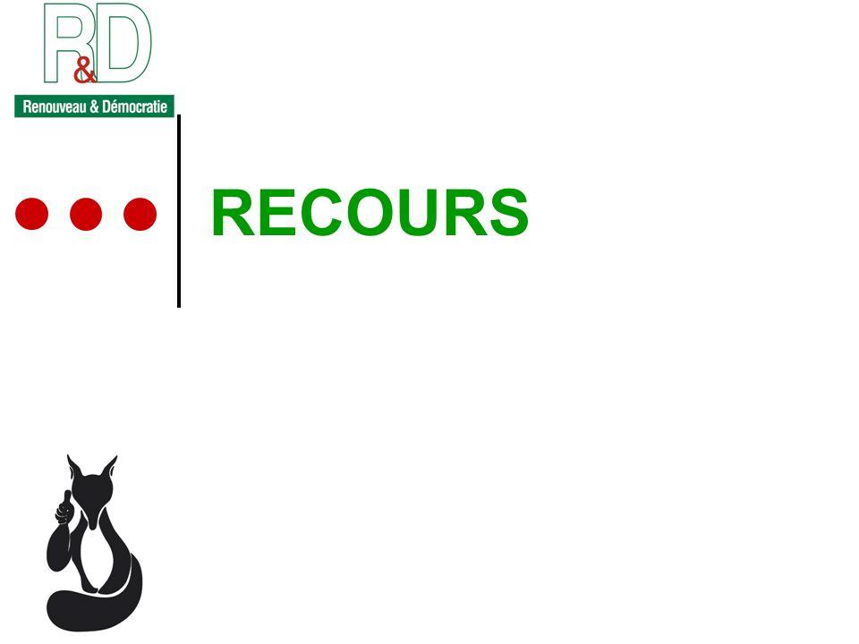 RECOURS