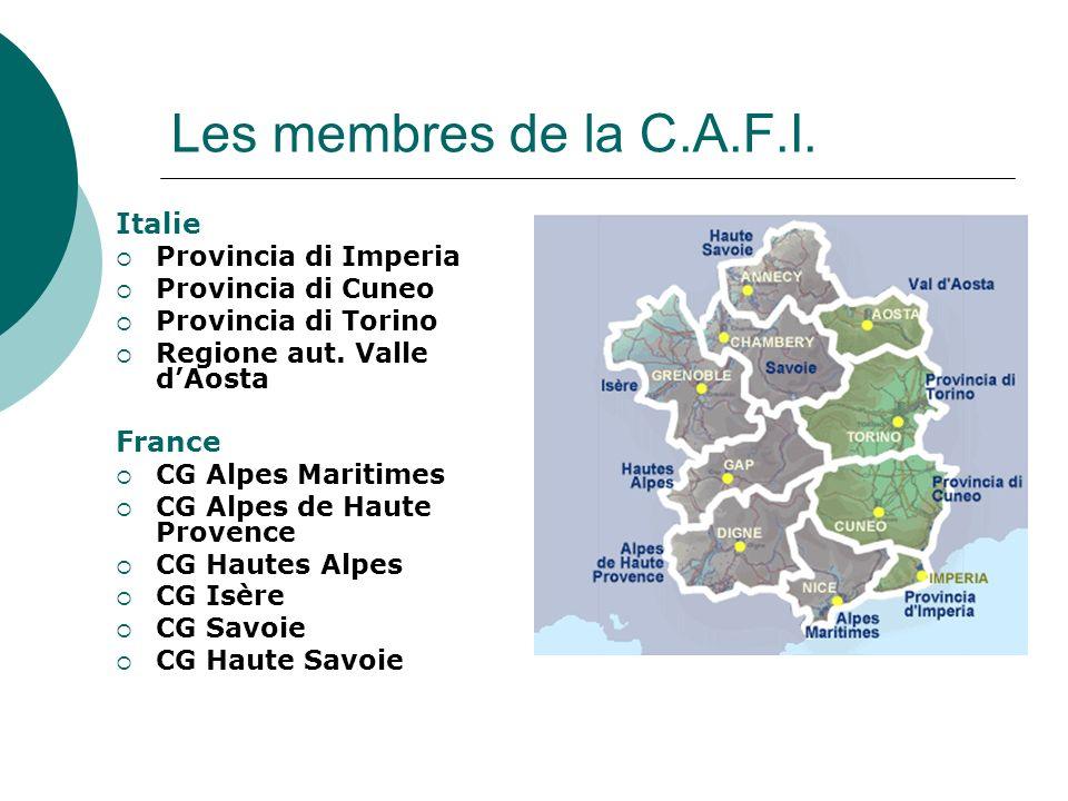 Les membres de la C.A.F.I.