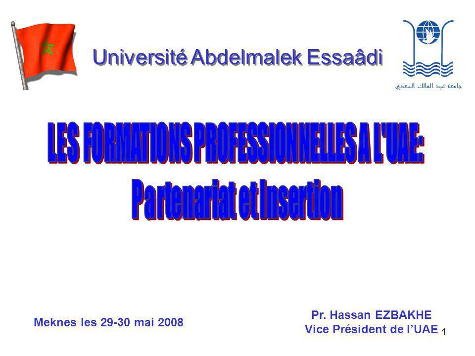 2 Université Abdelmalek Essaâdi Université de la Région du Nord