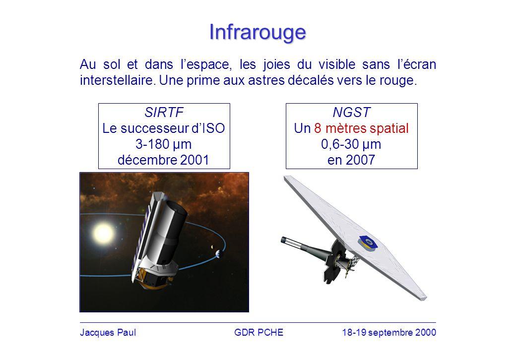 Jacques PaulGDR PCHE18-19 septembre 2000 Florilège de télescopes Tcherenkov HESS CAT CELESTE