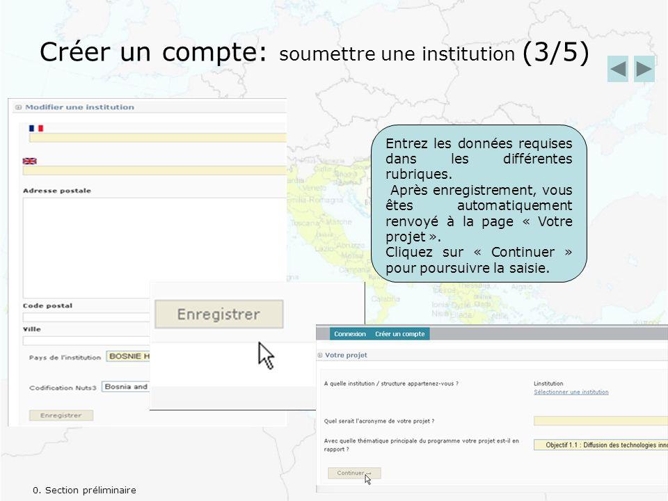 2.3 Information de contact des partenaires En cliquant sur « Information de contact des partenaires », vous obtenez une liste récapitulative de toutes les informations de contacts pour chaque partenaire.
