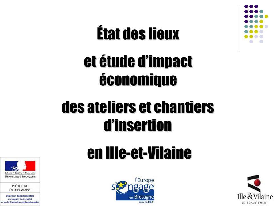 État des lieux et étude dimpact économique des ateliers et chantiers dinsertion en Ille-et-Vilaine en Ille-et-Vilaine