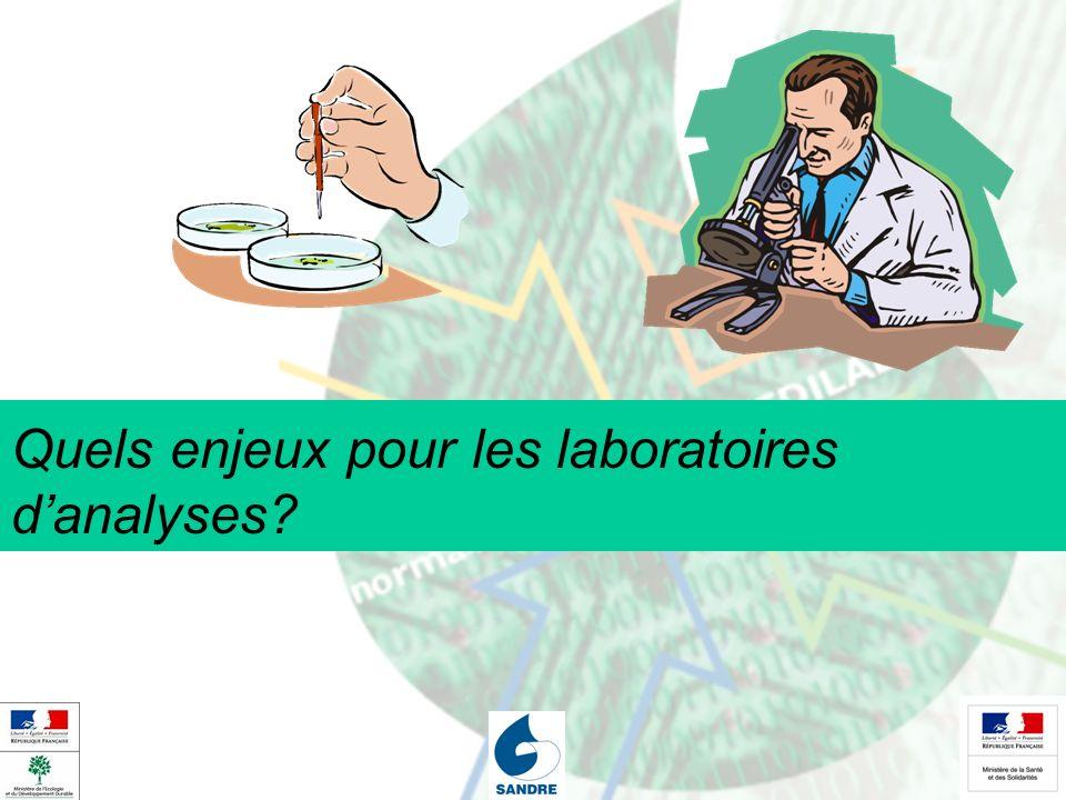 Quels enjeux pour les laboratoires danalyses?