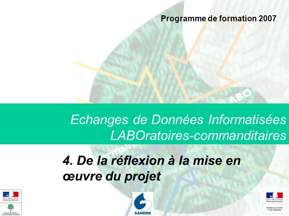 Echanges de Données Informatisées LABOratoires-commanditaires 4.